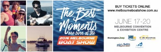 25% Discount to the 2016 Melbourne Boat Show!
